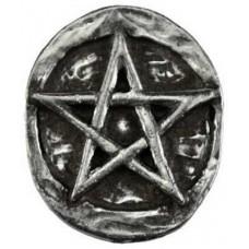 Pentagram pocket stone