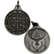 A.G.L.A. talisman silver color