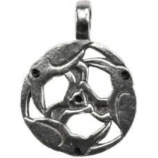 Celtic Raven amulet