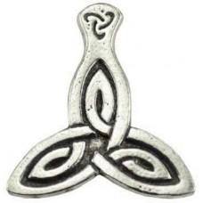 Celestial Triskele amulet