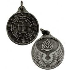Gabriel talisman silver color