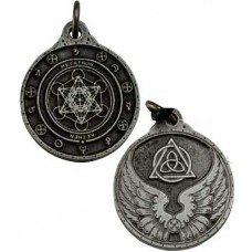 Metatron talisman silver color