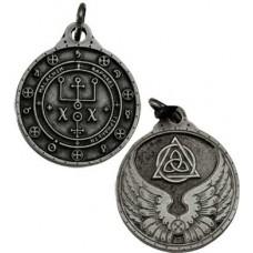 Raphael talisman silver color
