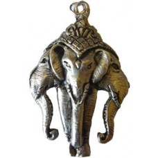 3 Headed Ganesha amulet