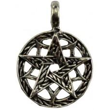 Knot Work Pentagram amulet