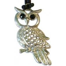 Owl, Wisdom & Healing Powers amulet