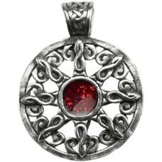 Sabbat Sun with Stone amulet