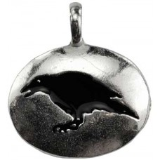 Raven totem amulet