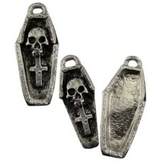 Voodoo Coffin amulet