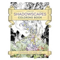 Shadowscape coloring book by Llewellyn