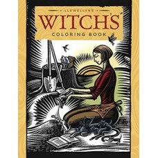 Witchs coloring book by Llewellyn