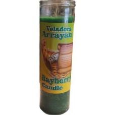 Bayberry (Veladora Arrayan) aromatic jar candle