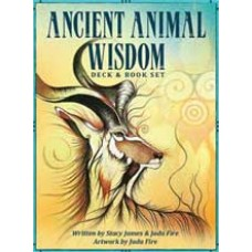 Ancient Animal Wisdom deck & book by James & Fire