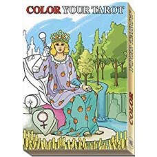 Color tyour Tarot 22 major arcana