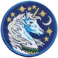 Unicorn iron-on patch 3