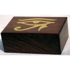 Brass Inlaid Eye of Horus Box 4