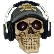 Skull with Headphones bank