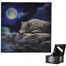 Lisa Parker Wolf Mirror box