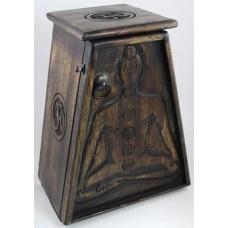 7 Chakra Wooden Cupboard