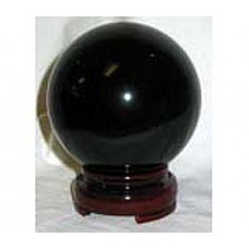 50mm Black crystal ball