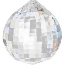 40 mm Disco faceted crystal ball