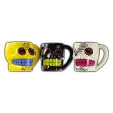 Set of 3 Day Dead Mugs