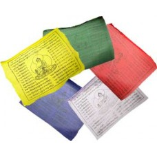 Tibetan Buddha prayer flag 8