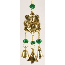 Three Bell Ganesh wind chime