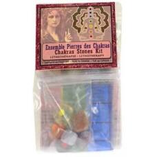 Chakra Stones (Ensemble Pierres des Chakras) kit