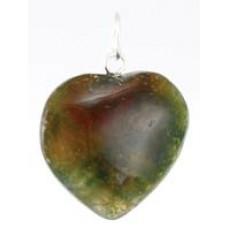 Heart Pendant various stones