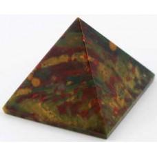 30- 35mm Bloodstone pyramid