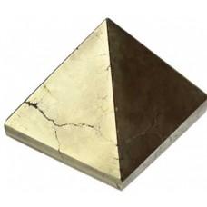 30- 35mm Pyrite pyramid