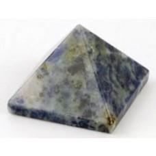 25-30mm Sodalite pyramid
