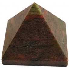 25-30mm Unakite pyramid