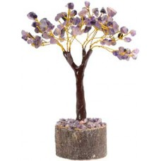 Amethyst gemstone tree 100 beads
