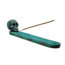 Aqua/ Pink Skull ash holder