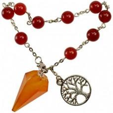 Carnelian pendulum bracelet