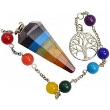 Chakra pendulum bracelet