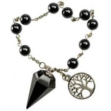 Hematite pendulum bracelet