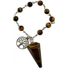 Tigers Eye pendulum bracelet