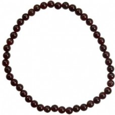 4mm Garnet stretch bracelet