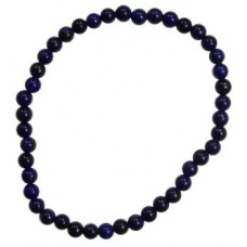 4mm Lapis stretch bracelet