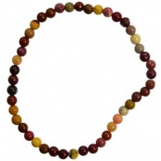 4mm Mookaite Jasper stretch bracelet
