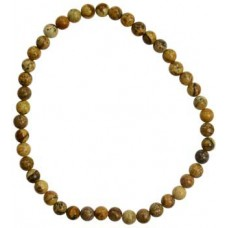 4mm Picture Jasper stretch bracelet