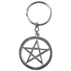 Pentagram Key ring
