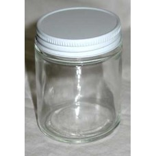1 oz Clear Glass Jar