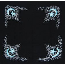 Celtic Moon altar cloth or scarve 36