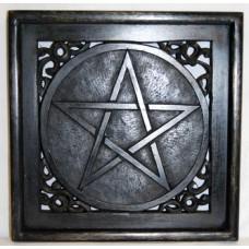 altar Plate w/ Pentagram 12