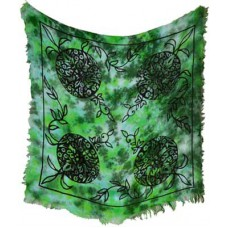 Green Man altar cloth 18