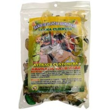 1 1/4oz Attract Customers (     ) aromatic bath herb